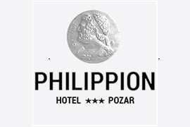 Philippion hotel Pozar logo